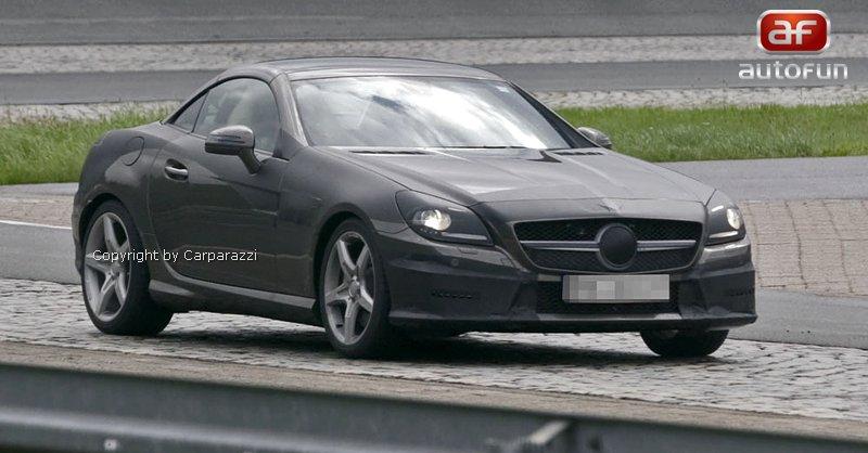 Spy Photos: Mercedes-Benz SLK (R172) - Poprvé i s turbodieselem: - fotka 1