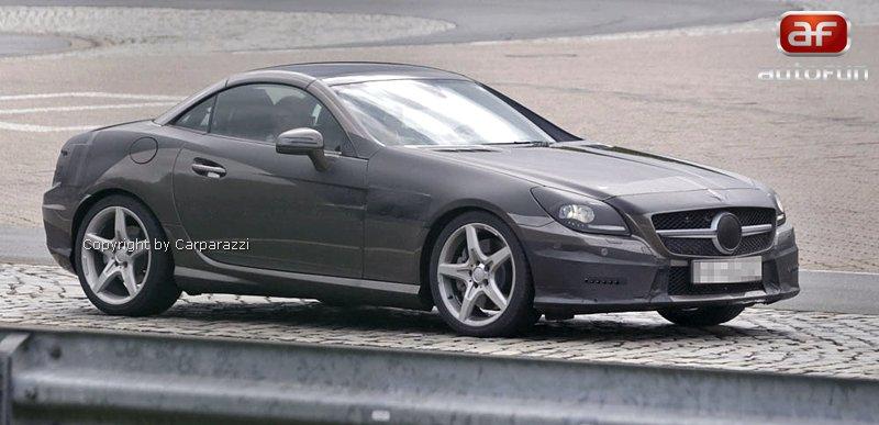 Spy Photos: Mercedes-Benz SLK (R172) - Poprvé i s turbodieselem: - fotka 2
