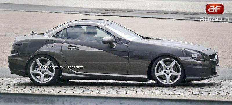 Spy Photos: Mercedes-Benz SLK (R172) - Poprvé i s turbodieselem: - fotka 3