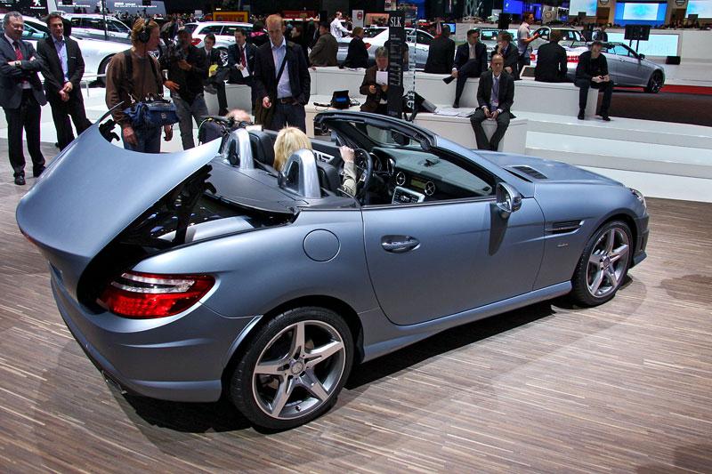 Ženeva 2011 živě: sportovní Mercedesy: - fotka 46