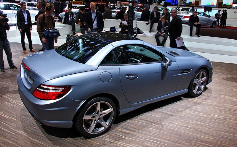 Ženeva 2011 živě: sportovní Mercedesy: - fotka 49