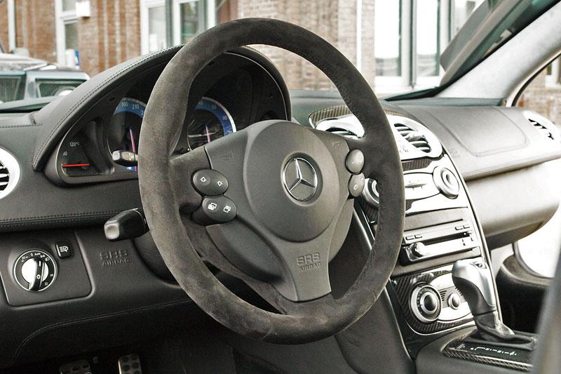 Edo Competition Black Arrow: vylepšený Mercedes-Benz SLR McLaren: - fotka 1