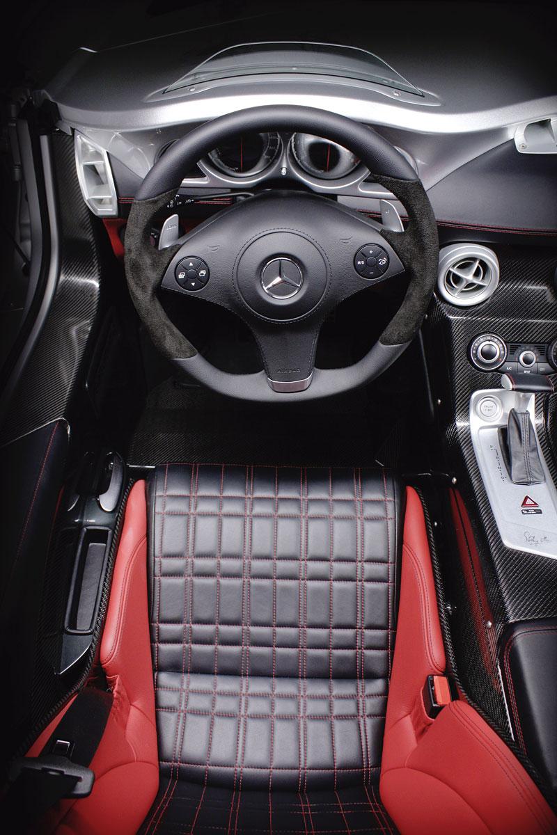 Mercedes-Benz SLR Stirling Moss: velká fotogalerie: - fotka 7