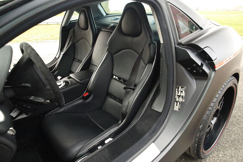 Edo Competition Black Arrow: vylepšený Mercedes-Benz SLR McLaren: - fotka 3