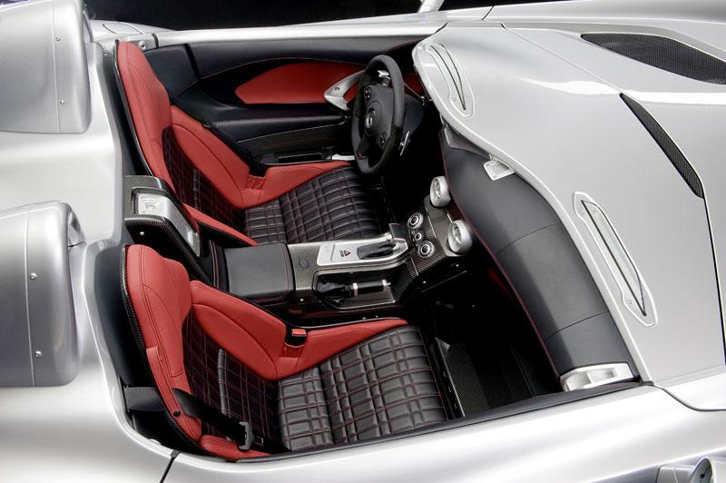 Mercedes-Benz SLR Stirling Moss: velká fotogalerie: - fotka 10