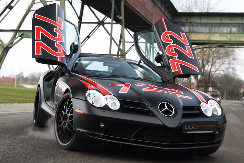 Edo Competition Black Arrow: vylepšený Mercedes-Benz SLR McLaren: - fotka 9