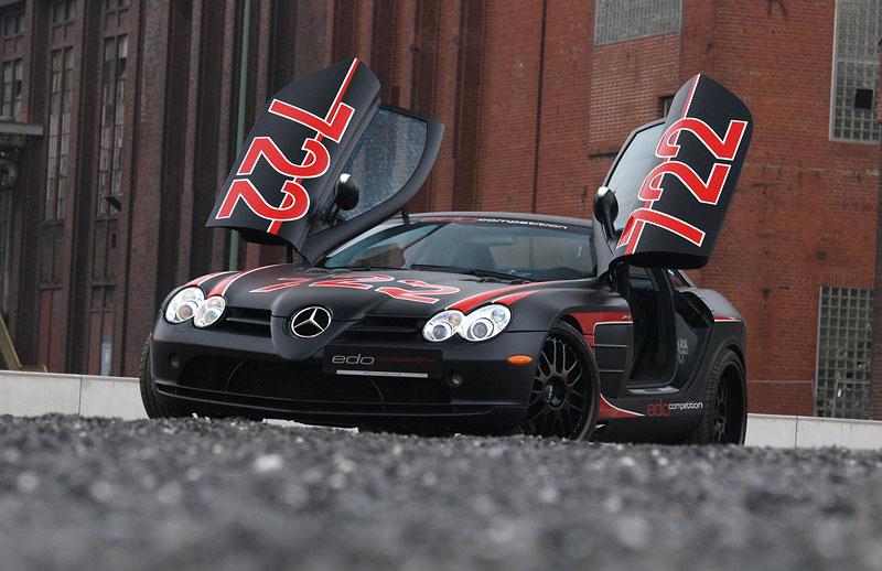 Edo Competition Black Arrow: vylepšený Mercedes-Benz SLR McLaren: - fotka 10