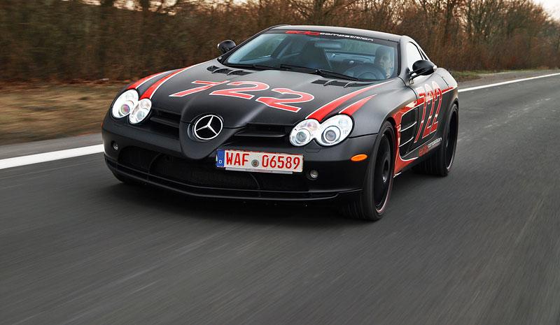 Edo Competition Black Arrow: vylepšený Mercedes-Benz SLR McLaren: - fotka 12