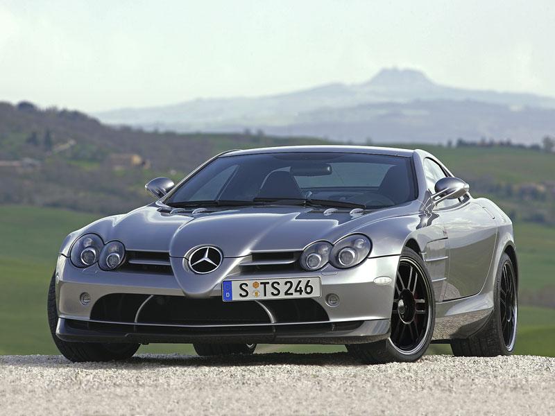 Mercedes a McLaren - každý na vlastním písečku: - fotka 13