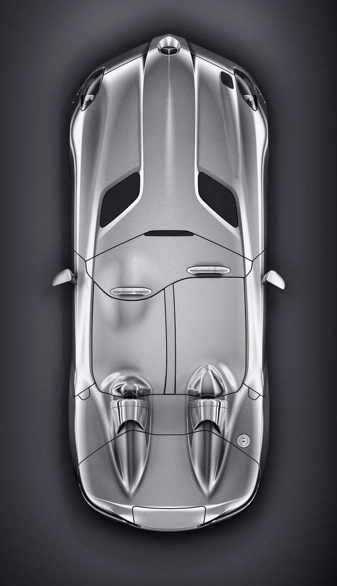 Mercedes-Benz SLR Stirling Moss: velká fotogalerie: - fotka 14