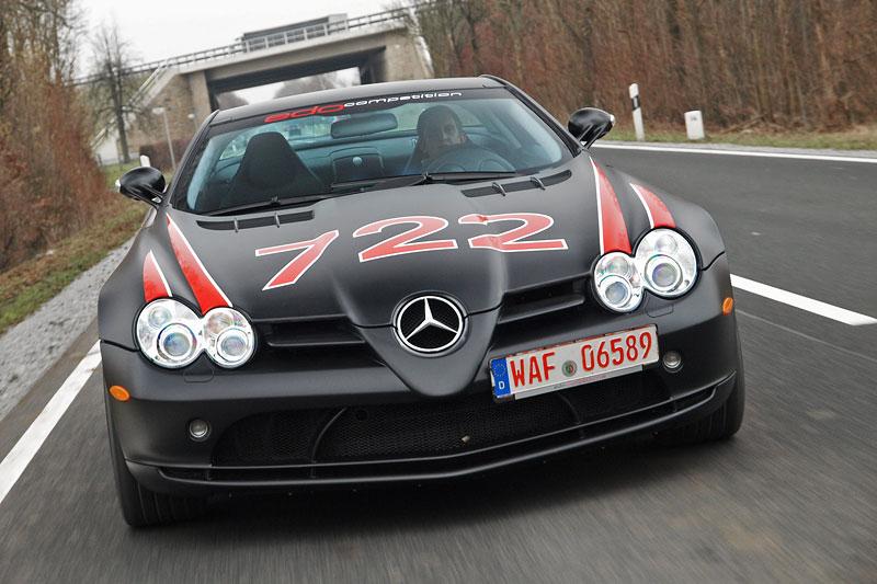 Edo Competition Black Arrow: vylepšený Mercedes-Benz SLR McLaren: - fotka 13