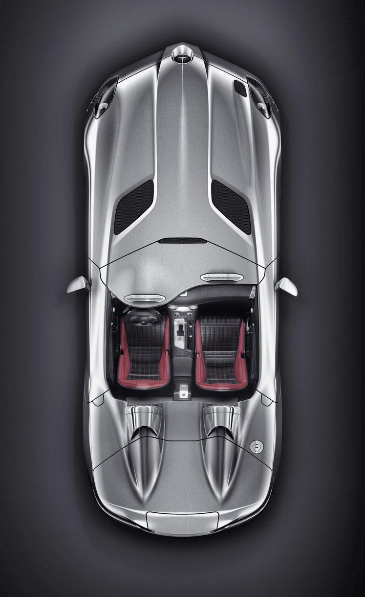 Mercedes-Benz SLR Stirling Moss: velká fotogalerie: - fotka 15