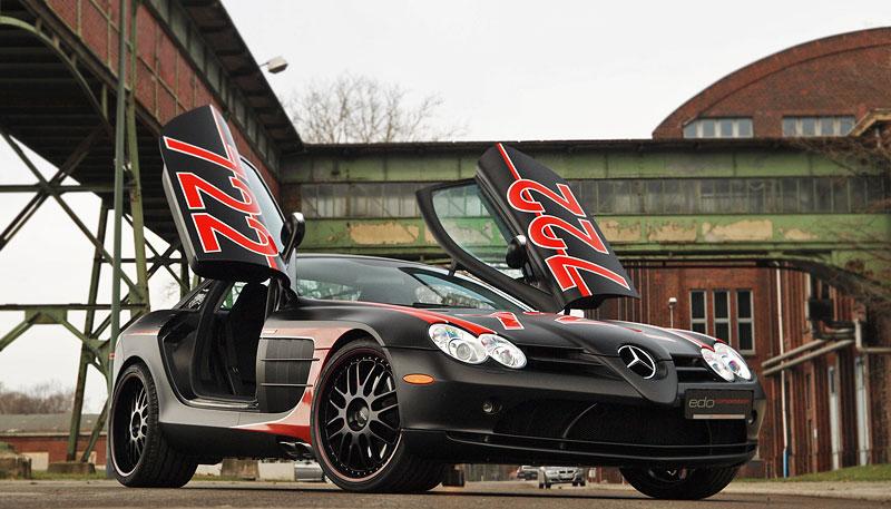 Edo Competition Black Arrow: vylepšený Mercedes-Benz SLR McLaren: - fotka 15