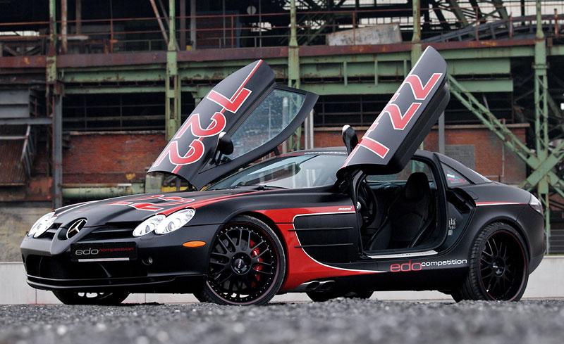 Edo Competition Black Arrow: vylepšený Mercedes-Benz SLR McLaren: - fotka 16