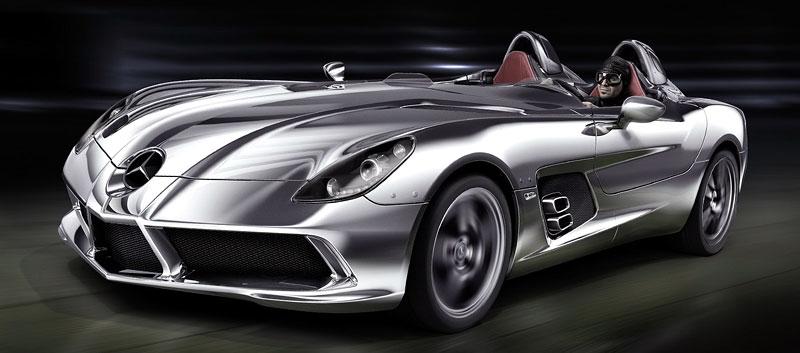 Mercedes-Benz SLR Stirling Moss: velká fotogalerie: - fotka 21