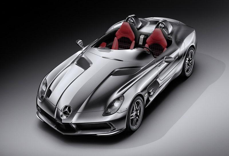 Mercedes-Benz SLR Stirling Moss: velká fotogalerie: - fotka 23