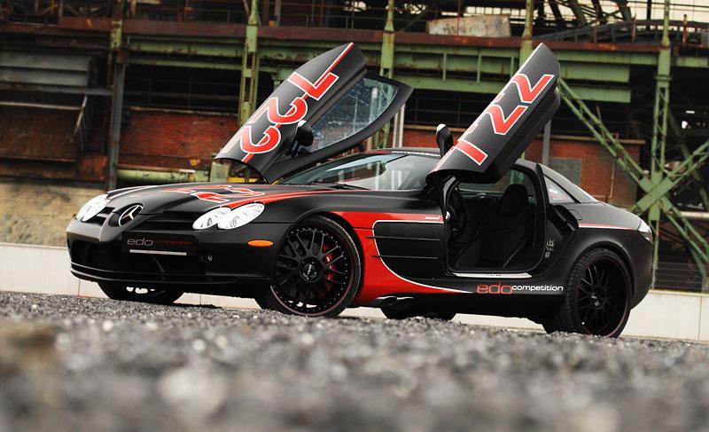Edo Competition Black Arrow: vylepšený Mercedes-Benz SLR McLaren: - fotka 18