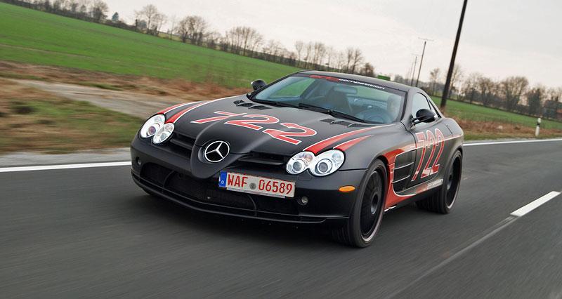 Edo Competition Black Arrow: vylepšený Mercedes-Benz SLR McLaren: - fotka 19