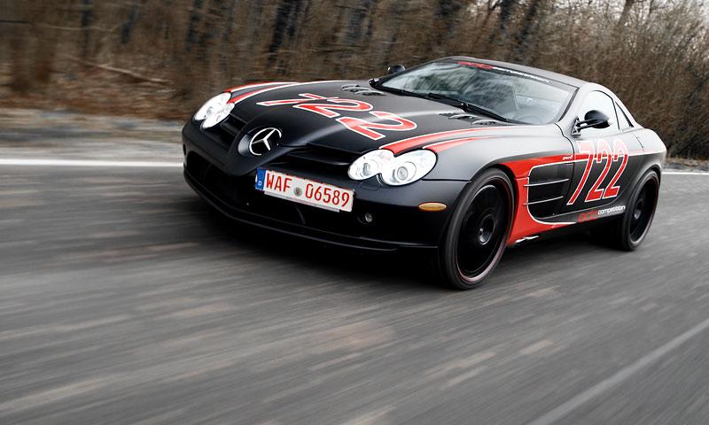 Edo Competition Black Arrow: vylepšený Mercedes-Benz SLR McLaren: - fotka 20