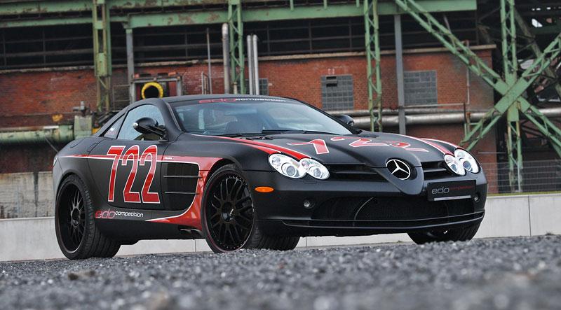 Edo Competition Black Arrow: vylepšený Mercedes-Benz SLR McLaren: - fotka 21