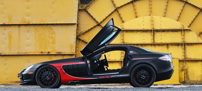 Edo Competition Black Arrow: vylepšený Mercedes-Benz SLR McLaren: - fotka 22
