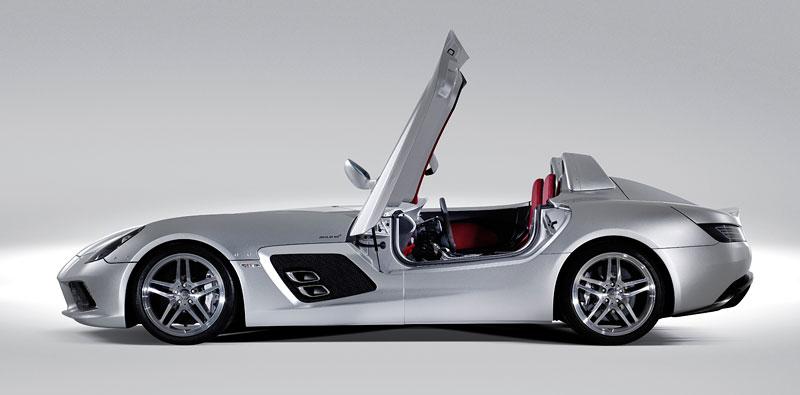 Mercedes-Benz SLR Stirling Moss: velká fotogalerie: - fotka 28