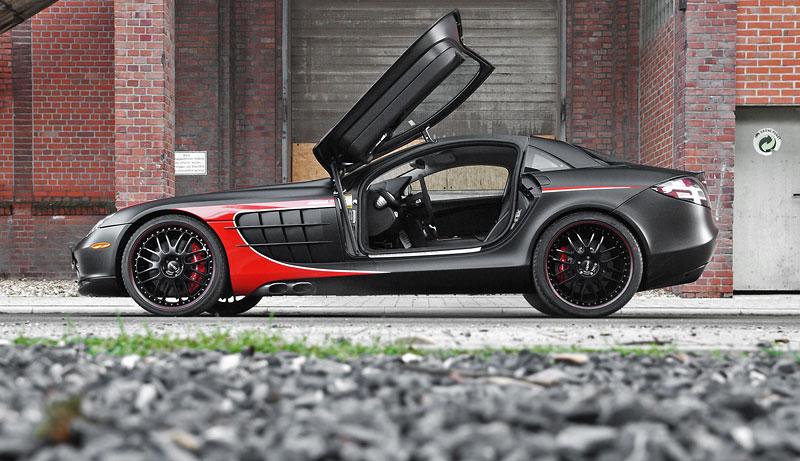 Edo Competition Black Arrow: vylepšený Mercedes-Benz SLR McLaren: - fotka 23