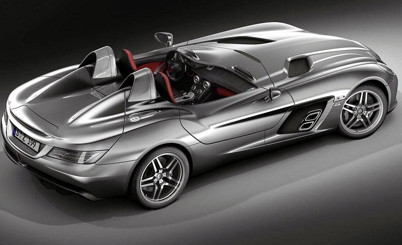 Mercedes-Benz SLR Stirling Moss: velká fotogalerie: - fotka 29