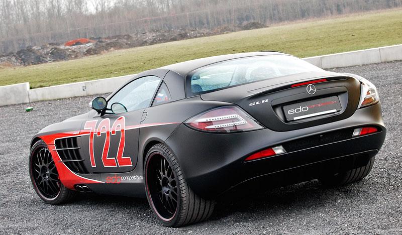 Edo Competition Black Arrow: vylepšený Mercedes-Benz SLR McLaren: - fotka 25