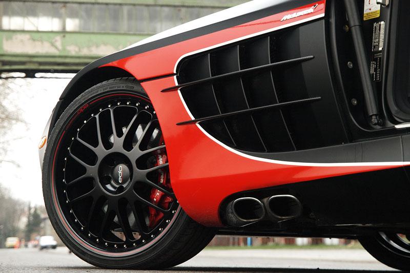 Edo Competition Black Arrow: vylepšený Mercedes-Benz SLR McLaren: - fotka 31