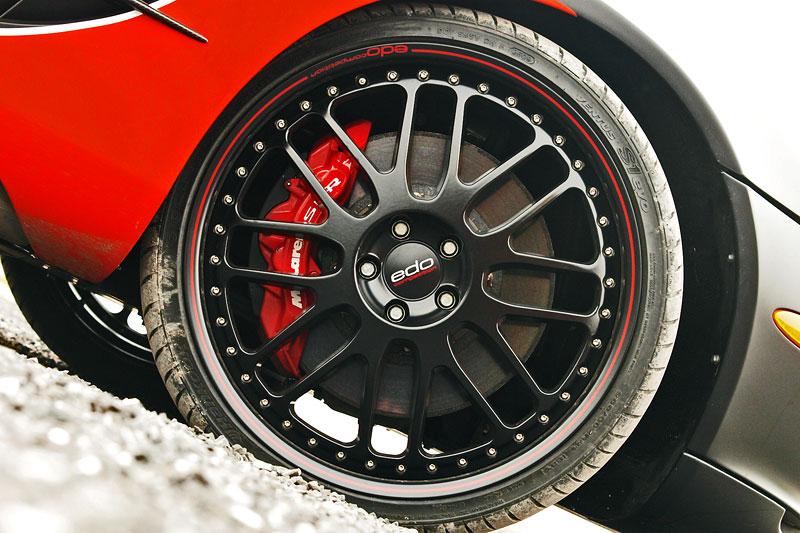 Edo Competition Black Arrow: vylepšený Mercedes-Benz SLR McLaren: - fotka 34