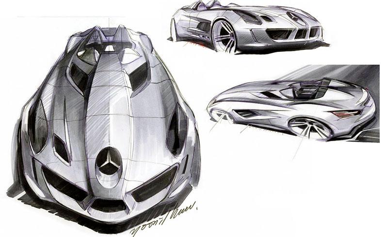 Mercedes-Benz SLR Stirling Moss: velká fotogalerie: - fotka 40