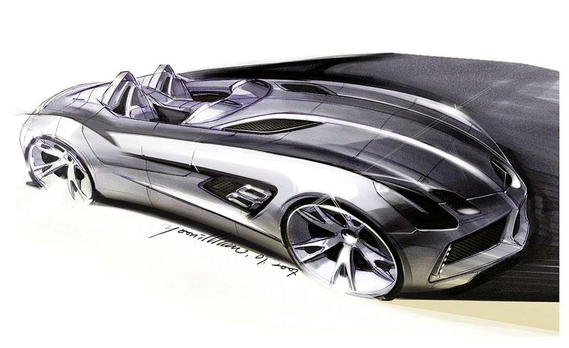 Mercedes-Benz SLR Stirling Moss: velká fotogalerie: - fotka 42