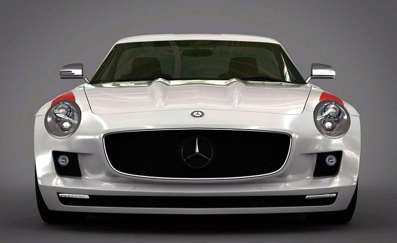 Mercedes-Benz SLS AMG Panamericana: převlek od Gullwing-America: - fotka 1