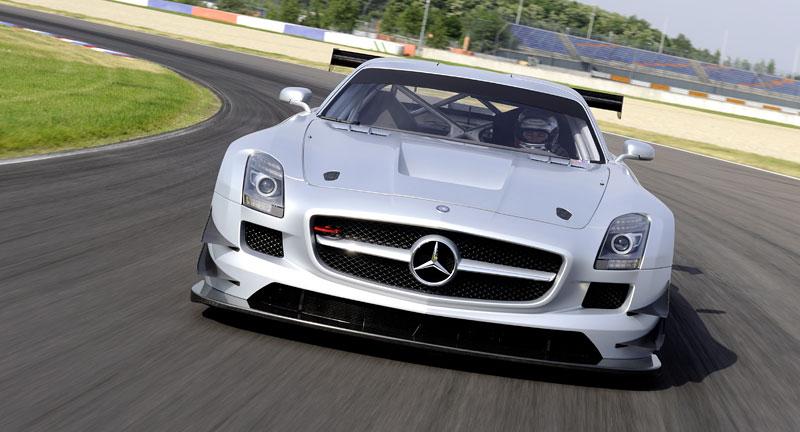 Mercedes-Benz SLS AMG GT3: speciál už zná svou cenu: - fotka 18