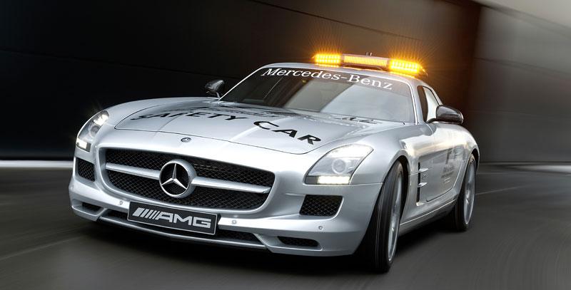 Mercedes-Benz SLS AMG F1 Safety Car pro sezónu 2010: - fotka 3