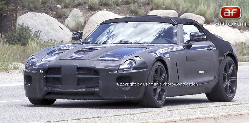 Spy Photos: Mercedes-Benz SLS Cabrio: - fotka 2