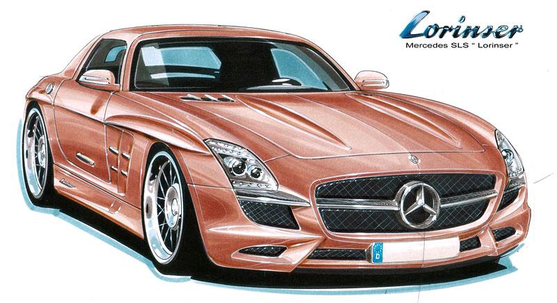 Lorinser chystá tuning pro Mercedes SLS AMG: - fotka 1
