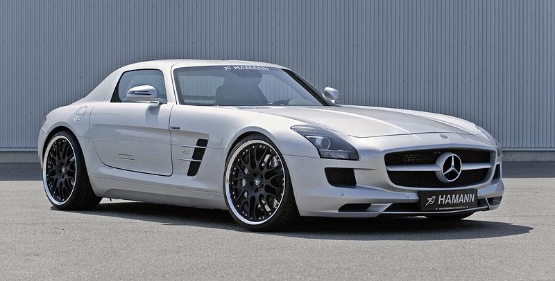 Mercedes-Benz SLS AMG: první doplňky od Hamann Motorsport: - fotka 1