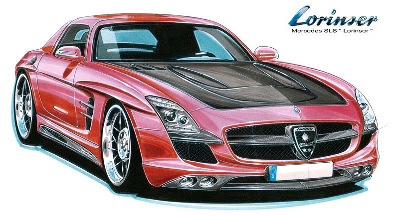 Lorinser chystá tuning pro Mercedes SLS AMG: - fotka 2