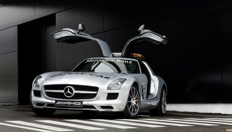 Mercedes-Benz SLS AMG F1 Safety Car pro sezónu 2010: - fotka 5