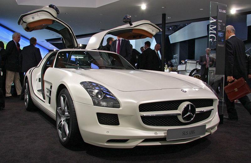 Ženeva 2011 živě: sportovní Mercedesy: - fotka 61