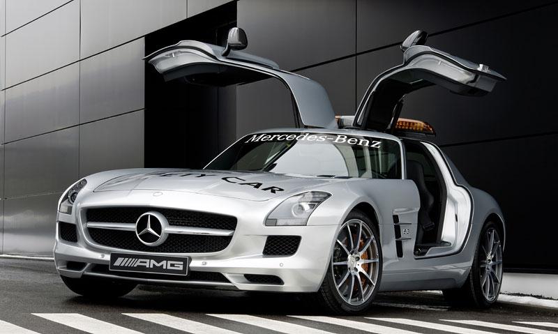 Mercedes-Benz SLS AMG F1 Safety Car pro sezónu 2010: - fotka 6
