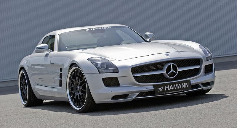 Mercedes-Benz SLS AMG: první doplňky od Hamann Motorsport: - fotka 3