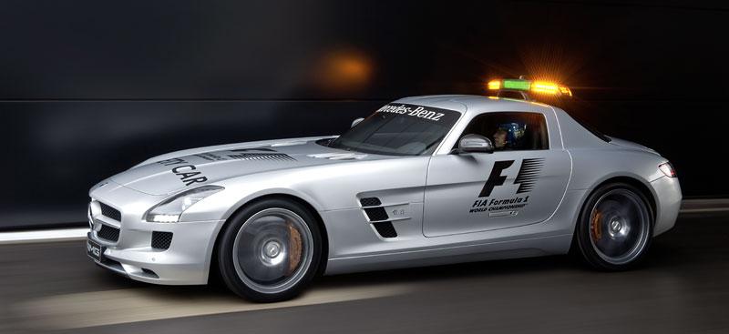 Mercedes-Benz SLS AMG F1 Safety Car pro sezónu 2010: - fotka 8