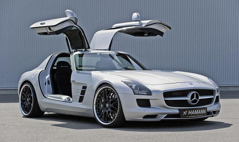 Mercedes-Benz SLS AMG: první doplňky od Hamann Motorsport: - fotka 4