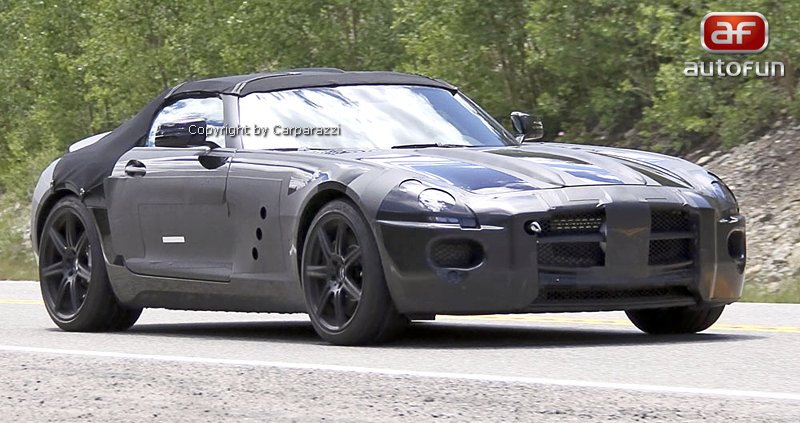 Spy Photos: Mercedes-Benz SLS Cabrio: - fotka 3