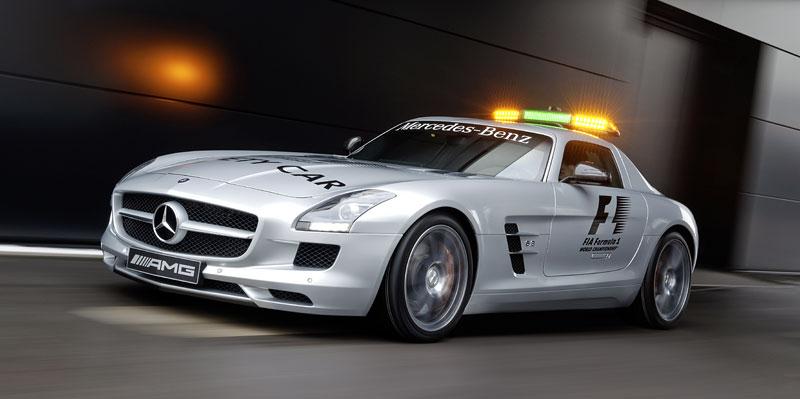 Mercedes-Benz SLS AMG F1 Safety Car pro sezónu 2010: - fotka 9