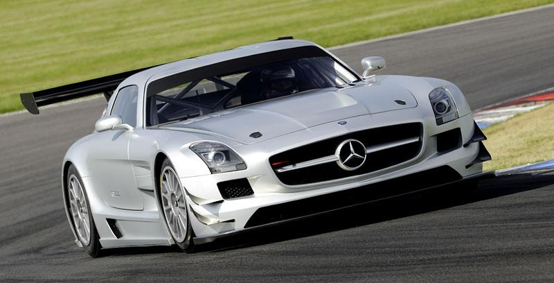 Mercedes-Benz SLS AMG GT3: speciál už zná svou cenu: - fotka 22