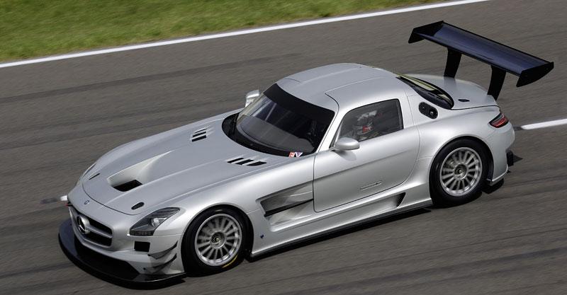 Mercedes-Benz SLS AMG GT3: speciál už zná svou cenu: - fotka 28